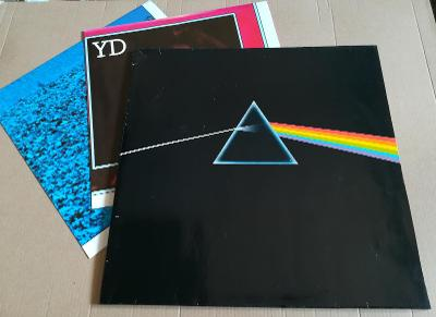 LP PINK FLOYD - DARK SIDE OF THE MOON/EX, 1973,2 PLAKÁT