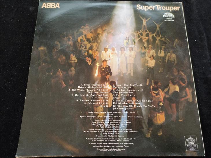 Abba - Super Trouper - Hudba