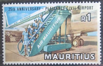 Mauricius 1971 Letadlo Mi# 379 0127
