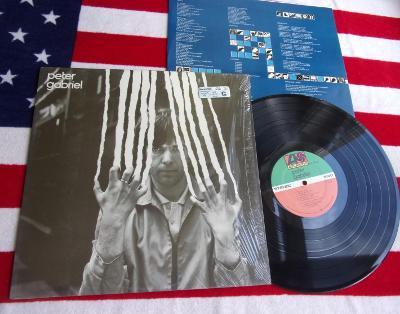 ☀️ LP: PETER GABRIEL - PETER GABRIEL, jako nová MINT!! 1press USA 1978