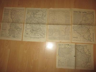 Mapy-Deutsches Reich-5x