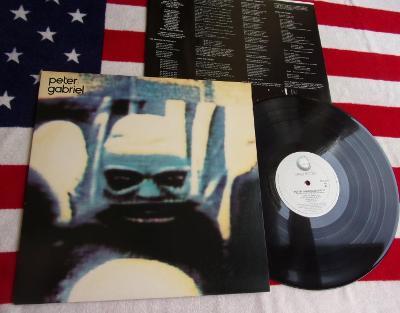 ☀️ LP: PETER GABRIEL - SECURITY, jako nová MINT!!!, USA 1982 (Genesis)
