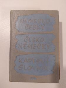 Německo-český a česko německý kapsní slovník