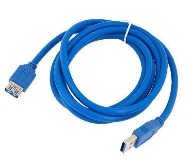 KP7 PRODLUŽOVACÍ KABEL USB 3.0 1,8 M PRODLUŽKA