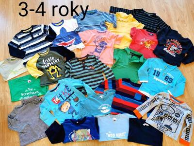 22 x tričko triko vel 3 - 4 roky - 98 - 104 - set