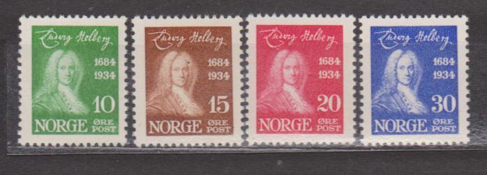 Norsko - Ludvig Holberg - norsko-dánský dramatik