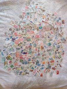 Každá jiná - poštovní známky československé republiky 340ks