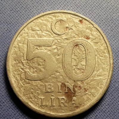 50 BIN LIRA - r.1999