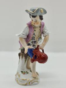 Míšeň, Meissen porcelánová soška, figurka