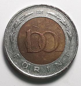 100 FORINT - Maďarsko - r.1996