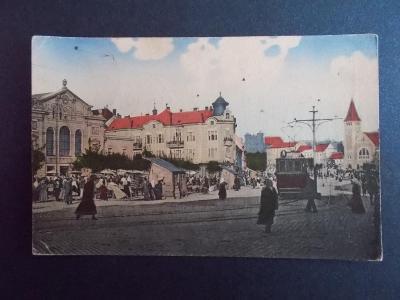 Slovensko Bratislava Náměstí republiky  tramvaj