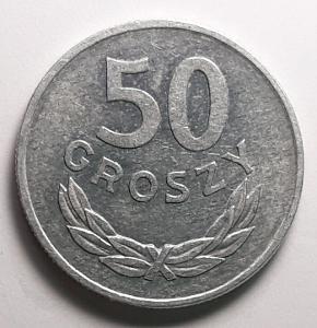 50 GROŠŮ - Polsko - r. 1974