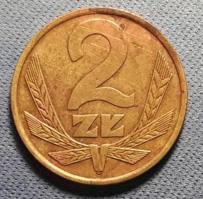 2 Zloté - Polsko - r. 1976
