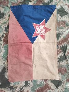 vlajka dunajské pohraniční stráže-RARE !!!