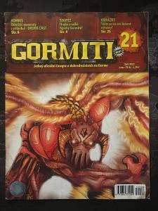 Gormiti Magazín - 21/ 2012  komiks