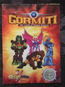 Gormiti * Sticker Album * The Lords of Nature Return