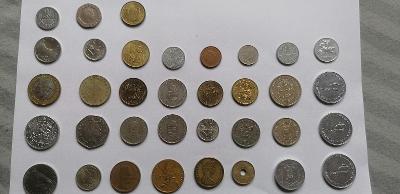 Mince zahraničí a už zrušena měna a pamětní.