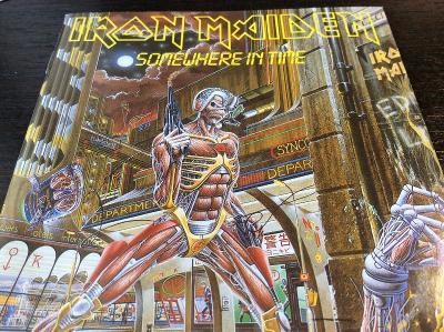 IRON MAIDEN: SOMEWHERE IN TIME 1986, LTD. EDICE S BONUS CD, PICTURE CD