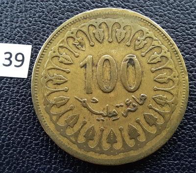 Tunisko 100 mil., 1418 (1997)