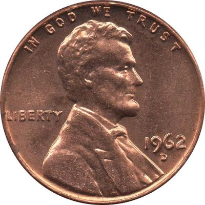 """16 ročníků 1 cent """"Lincolnův pamětní cent"""""""