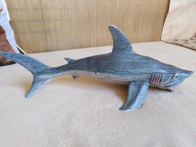 Obrovský žralok Megalodon 58 cm