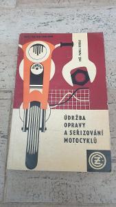 Údržba opravy a seřizování motocyklů-ČZ 125, ČZ 175, ČZ 250, skutrČZ
