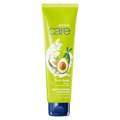 Hydratační pleťová maska s avokádovým olejem