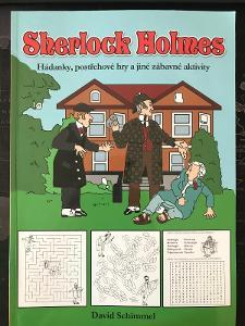 Sherlock Holms * Hádanky, postřehové hry a jiné zábavy aktivity