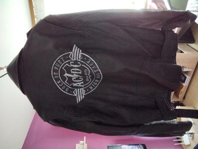 Pánská bunda AC / DC z pravé kůže