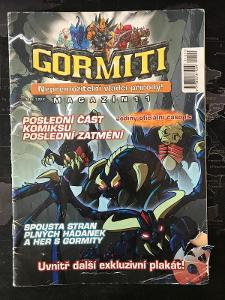 Gormiti Magazín - 11   komiks