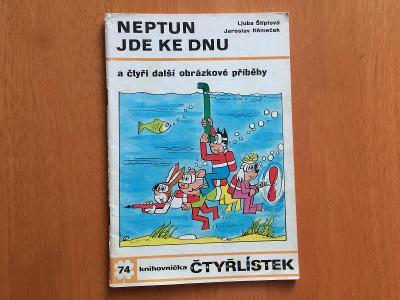 Čtyřlístek 74 - Neptun jde ke dnu