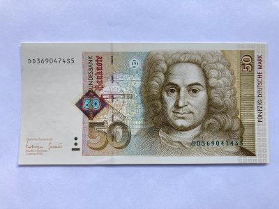 BANKOVKA 50 MAREK - NĚMECKO 1996 UNC STAV