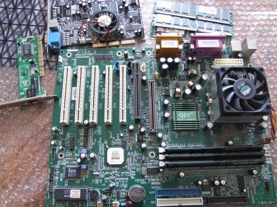 Set základní deska + procesor + RAM