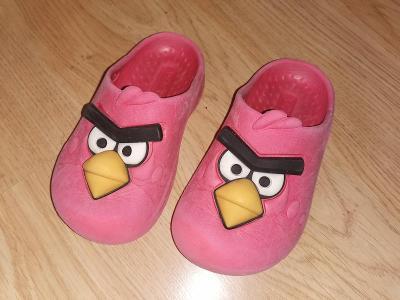 Angry Birds boty pantofle   vel 24-25