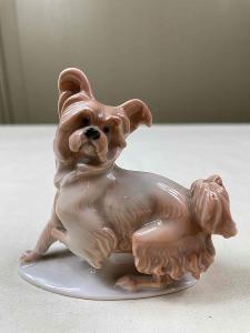 Pes - porcelán - sig. Rosenthal