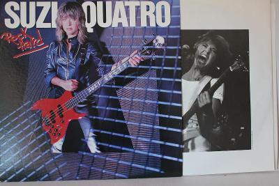 Suzi Quatro – Rock Hard LP 1980 vinyl Japan 1.press jako nove NM