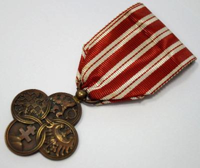 ČSR I - Vyznamenání: ČESKOSLOVENSKÝ VÁLEČNÝ KŘÍŽ od 1 Kč (6398)