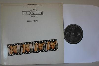 C.C. Catch Big Fun LP 1988 vinyl D Club Ed Sonocord jako nove NM rare