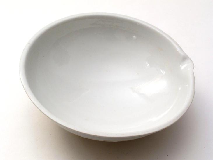 #2878A porcelánová miska - laboratorního porcelán 150mm  - Foto