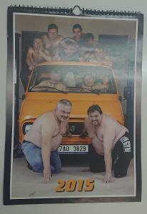 Amatérský KALENDÁŘ z garáže :-) Škoda 1203 / TAZ 1500  Rarita!!!