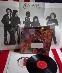💥 LP: SANTANA - ABRAXAS, deska MINT-, 1st press s plakátem!! USA 1970
