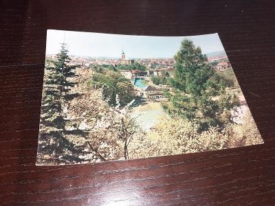Pohlednice z roku 1965 Trutnov, prošlé poštou.