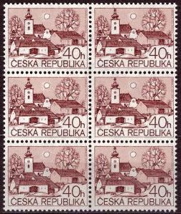 POF. 70 - VENKOVSKÉ MOTIVY 40 HAL - 6-BLOK S DV 39/1 (S1813)