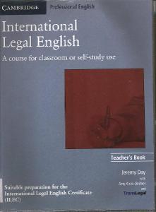 International Legal English - Teacher's book