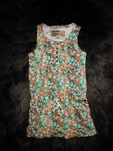 GARCIA JEANS krásné pružné šaty 5-7 let 116/122