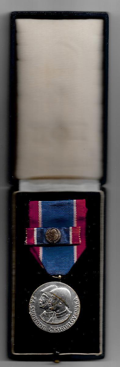 Medaile Čs. voj.řádu Za svobodu II.stupeň