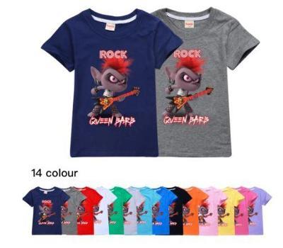Trolls / Trollové - dětské tričko, různé velikosti Queen Barb