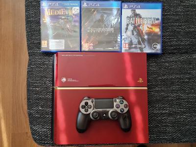 Sony Playstation 4 500gb special edition metal gear