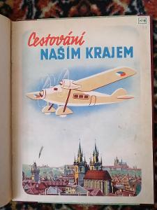 Cestování naším krajem -  ilustrovaná knihy pro děti z 60-tých let !!!