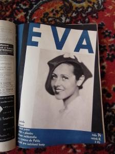 EVA- časopis moderní ženy - ročník III. 1930 - 1931 22 čísel !!!!!!!!